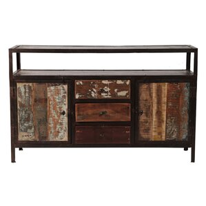 sparks mango wood console table
