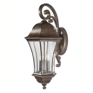 3-Light Outdoor Wall Lantern By Mariana Home Outdoor Lighting