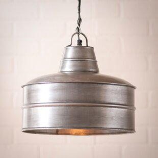 Gracie Oaks Kidd 1-Light Drum Pendant