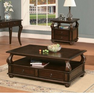 Emiliano Coffee Table with Storage by Darby Home Co