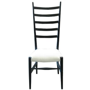 Ladder Solid Wood Dining Chair by Noir
