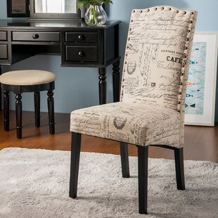 Wachapreague Script Upholstered Dining Chair Set Of 2
