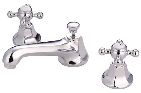 Ordinaire Metropolitan Widespread Bathroom Faucet With Double Cross Handles