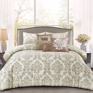 Darby Home Co Tolliver Cotton 7 Piece Comforter Set