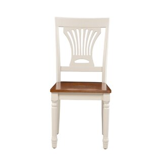 Whittaker Solid Wood Dining Chair (Set of 2) Rosecliff Heights