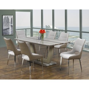 Leonardo 5-Piece Dining Set Brassex