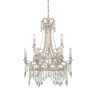 Spade 9-Light Candle Style Chandelier by House of Hampton