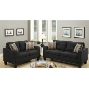 Lincon Sofa and Loveseat Set by A&J Homes Studio