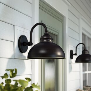 Reviews Ellwood Outdoor Barn Light By Gracie Oaks