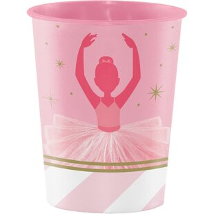 Ballet Keepsake Plastic Disposable Cup (Set of 8)