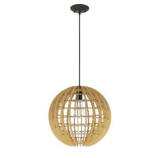 Brayden Studio Devlin 1-Light Globe Pendant