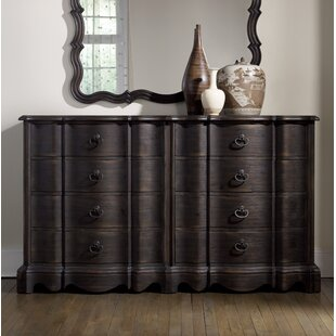 Look for Camden 8 Drawer Double Dresser by Hooker Furniture