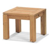 Eady Solid Wood Side Table