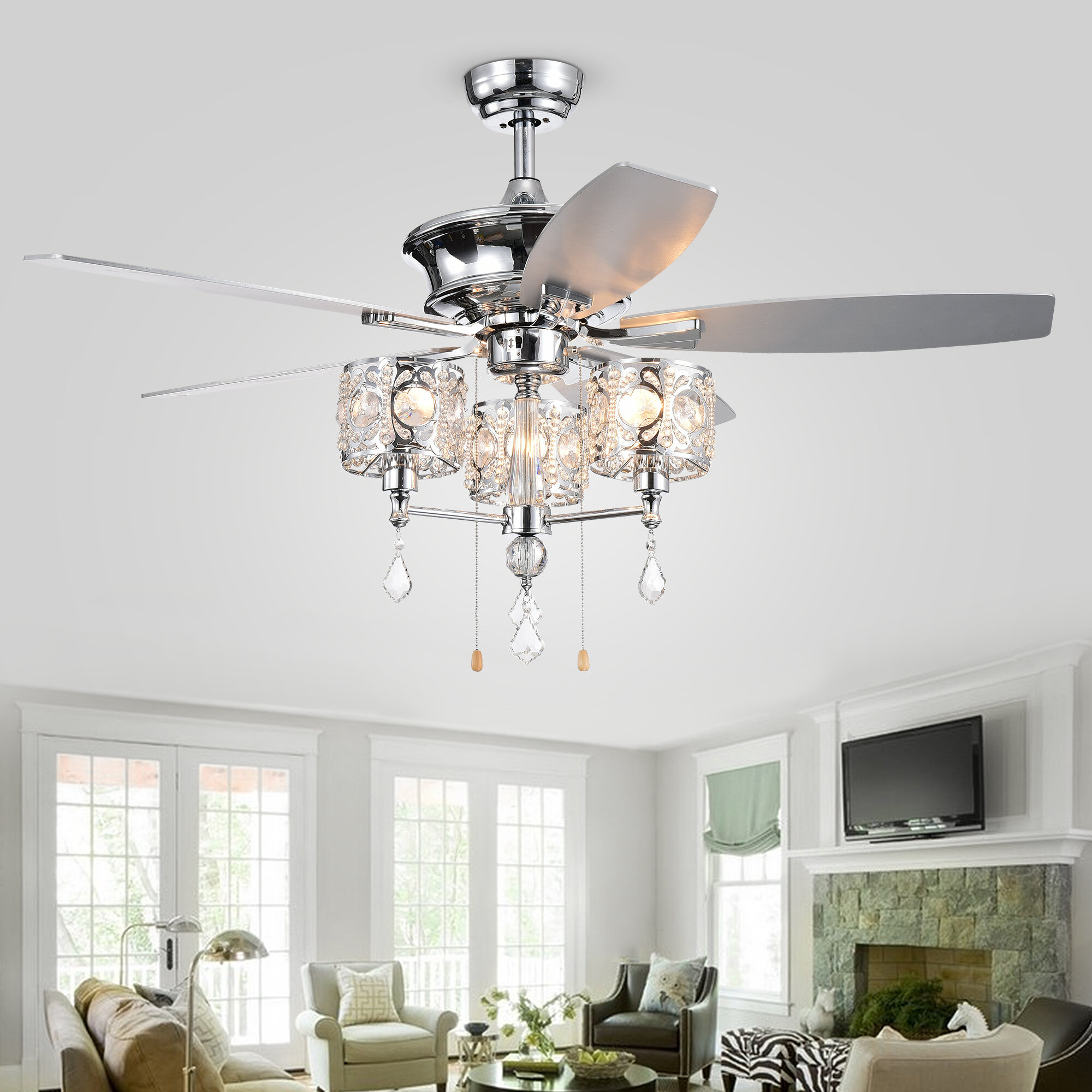 Rosdorf Park Ceiling Fan Light Kit