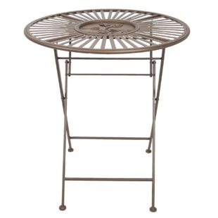 Jaheim Iron Bistro Table By Symple Stuff