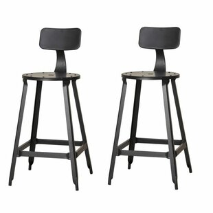 Workman 62.5cm Bar Stool (Set Of 2) By Borough Wharf