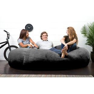 Big Joe Lux Bean Bag Sofa by Big Joe