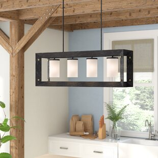 Gracie Oaks Galindo 4-Light Kitchen Island Pendant