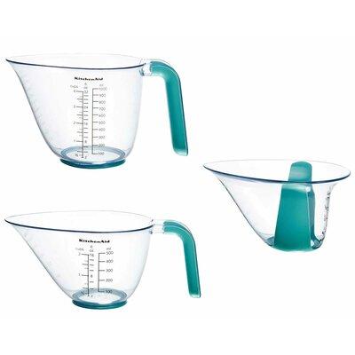 KitchenAid 3-Pieces Plastic Measuring Cup Set KitchenAid -  KO298OSAQA