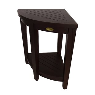 Outdoors Elevated Teak Side Table