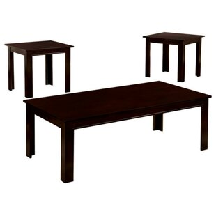 Geer Transitional 3 Piece Coffee Table Set