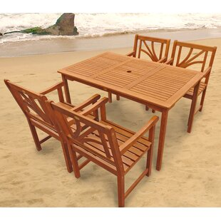 Adish 4 Seater Dining Set By Sol 72 Outdoor