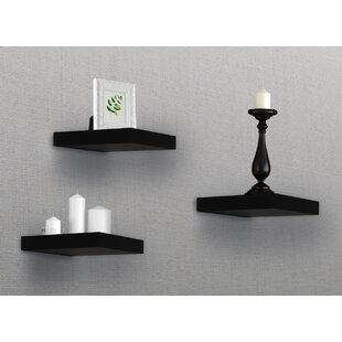 Hitchens Tile Floating Shelf (Set of 3)