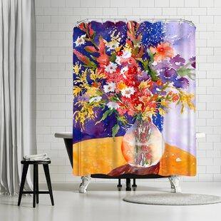 Sunshine Taylor Bursting Single Shower Curtain