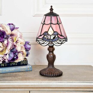 Searching for Crewe Crystal Lace Tiffany 12.25 Table Lamp By Fleur De Lis Living