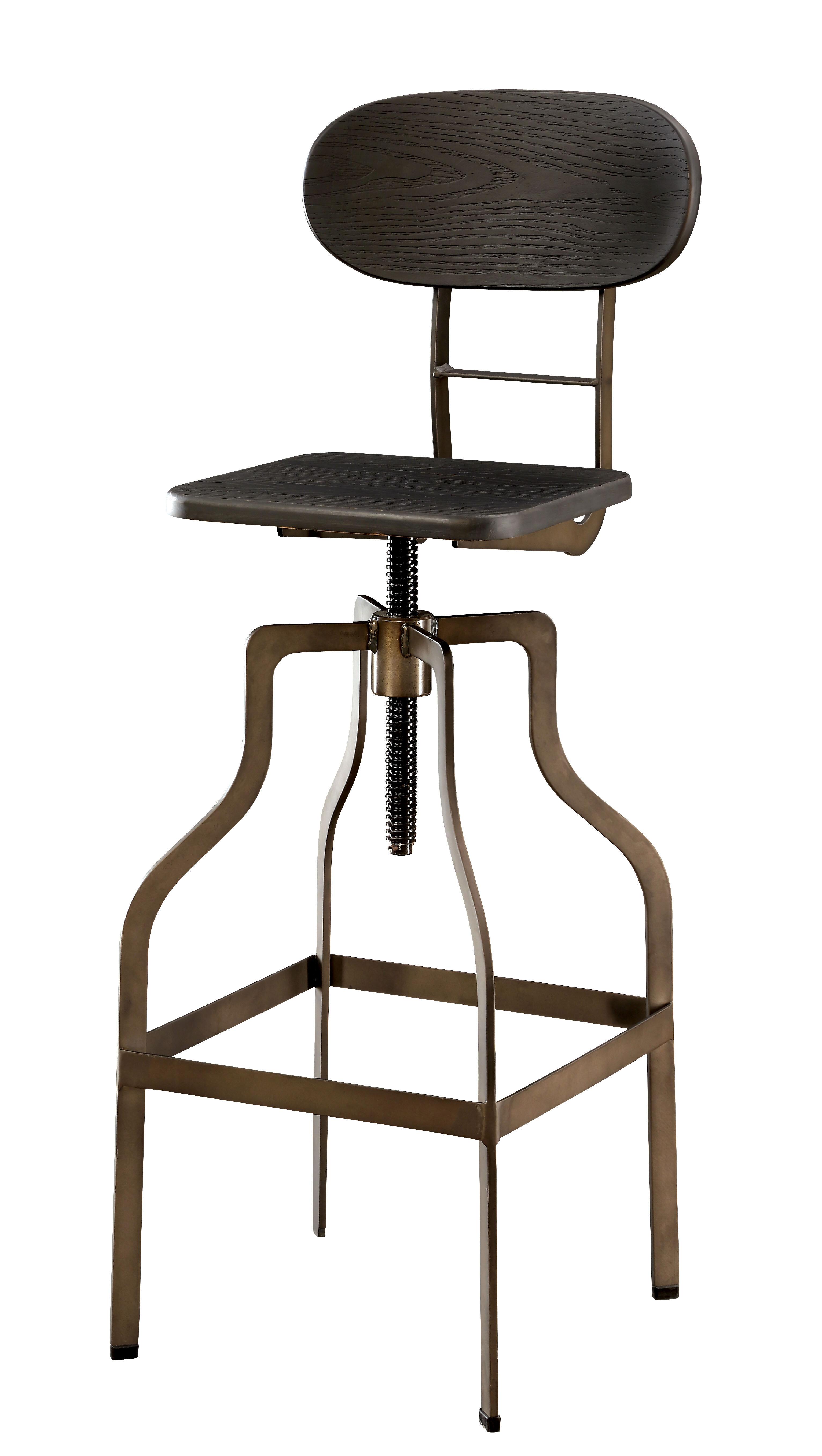Super Denice Metal 34 Adjustable Height Swivel Bar Stool Ibusinesslaw Wood Chair Design Ideas Ibusinesslaworg