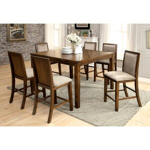 Audubon 7 Piece Dining Set by Darby Home Co