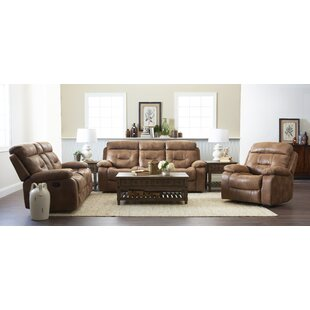 Russel Reclining Configurable Living Room Set