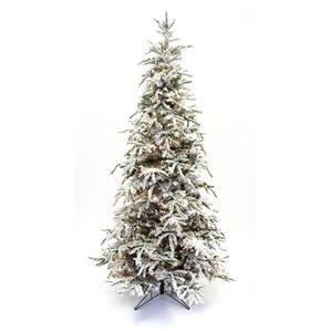 The Holiday Aisle Flocked Christmas Trees You'll Love | Wayfair