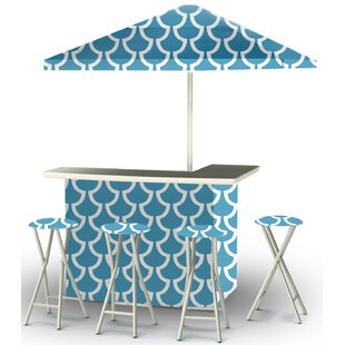 Patio 8 Piece Bar Set by B..