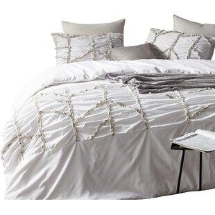 Centerton Textured Oversized Single Duvet Cover