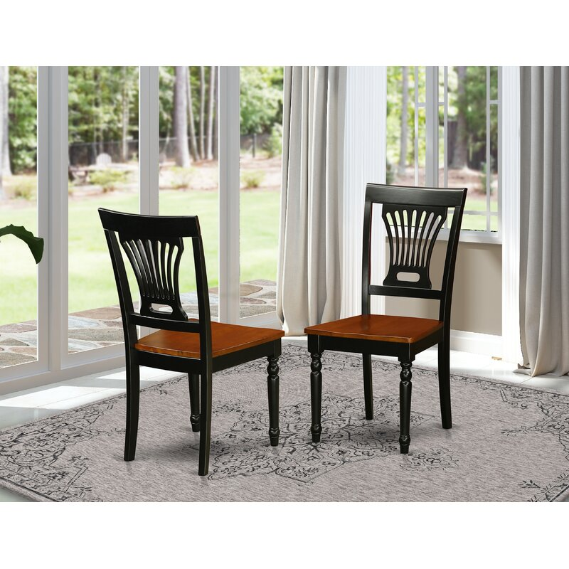 August Grove Pilcher Solid Wood Dining Chair Reviews Wayfair