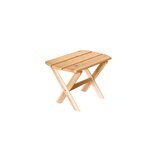 Taber Folding Wooden Side Table
