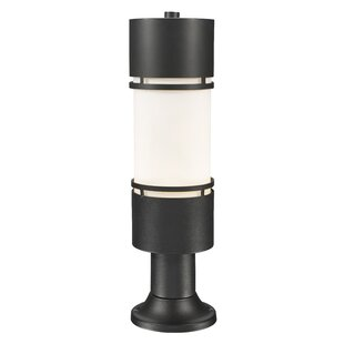 Inexpensive Feder Outdoor 1-Light LED Pier Mount Light By Ivy Bronx
