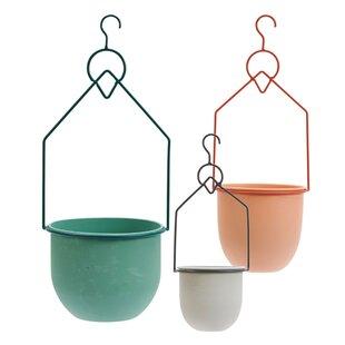 Chulmleigh 3 Piece Metal Hanging Basket Image