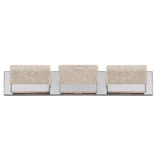 Modern Forms Glacier 3-Light Bath Bar