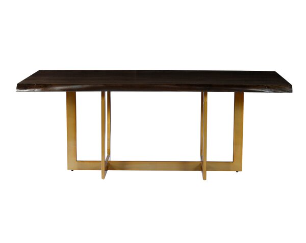 . Modern   Contemporary Wood Slab Dining Table   AllModern