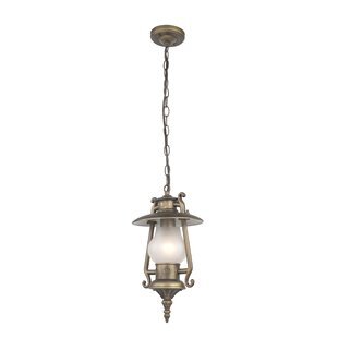 Gideon 1-Light Outdoor Hanging Lantern By Ophelia & Co.