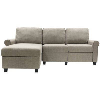 Swell Serta At Home Copenhagen Reclining Sectional Color Oatmeal Gmtry Best Dining Table And Chair Ideas Images Gmtryco