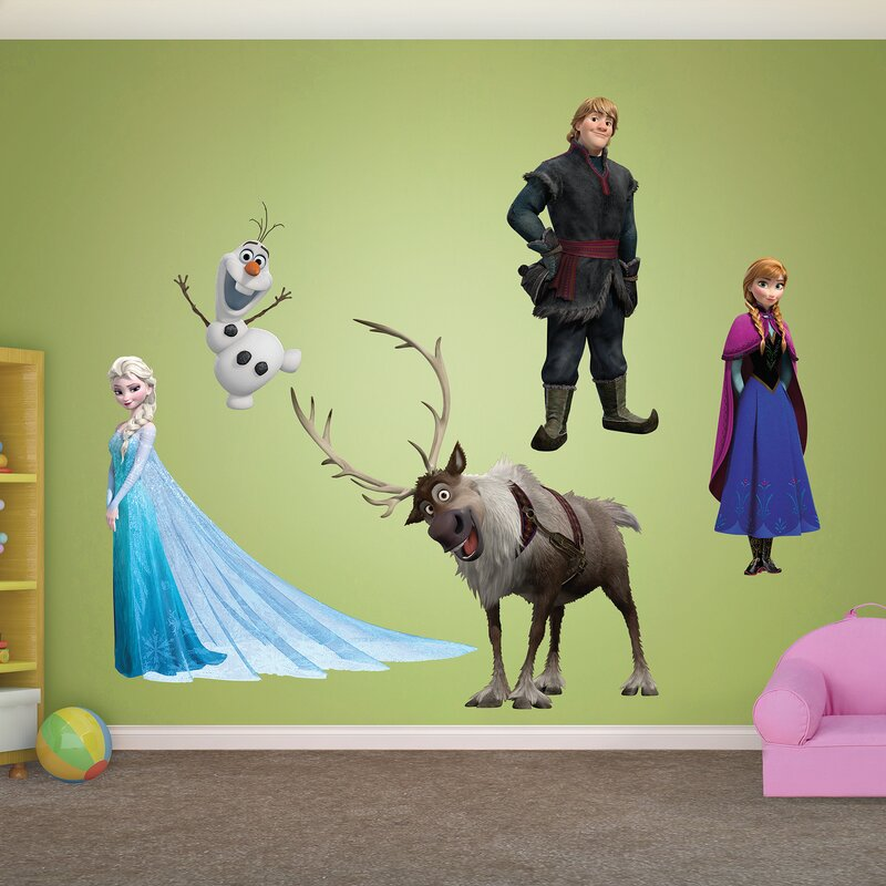 RealBig Disney Frozen Wall Decal