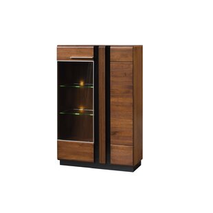 Latitude Run Dashrath Lighted China Cabinet