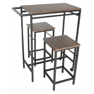 Maloney 3 Piece Pub Table Set