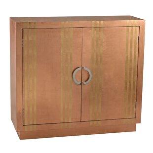 Witney 2 Door Stripe Accent Cabinet by Mercer41