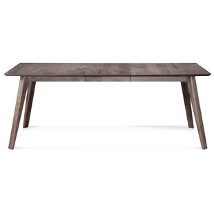 Mascher Solid Wood Dining Table Union Rustic