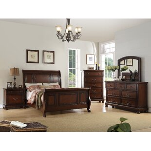 Canora Grey Chatteris Sleigh Bed