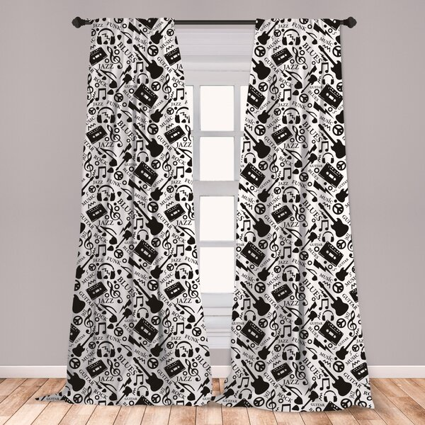 Peace Sign Curtains | Wayfair